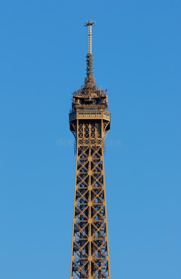 Download башня верхней части пола Eiffel Стоковое Фото - изображение насчитывающей повреждает, landmark: 6863388