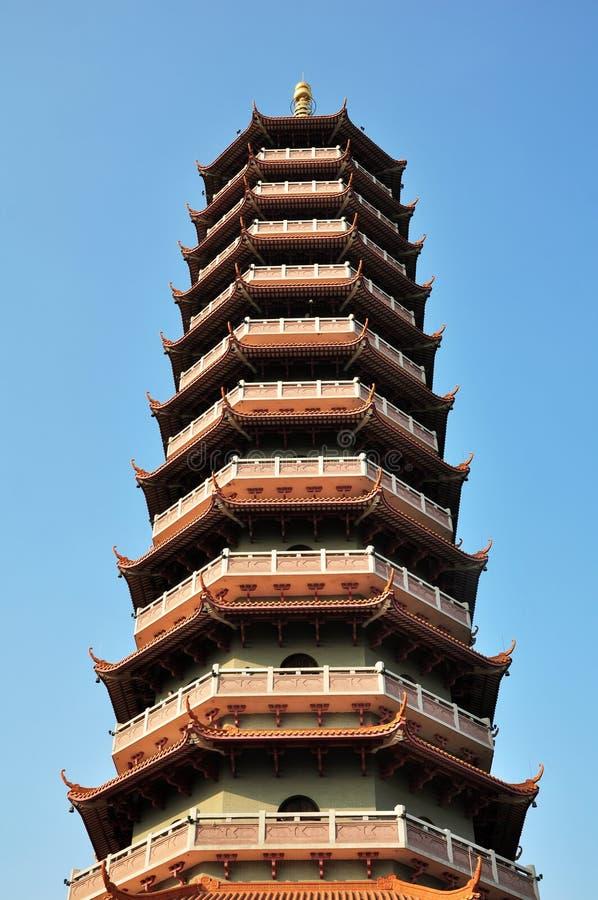 Башня взгляда низкого угла стоковая фотография