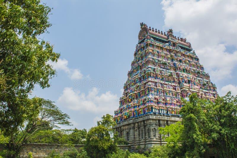 Башня виска Chidambaram стоковое изображение