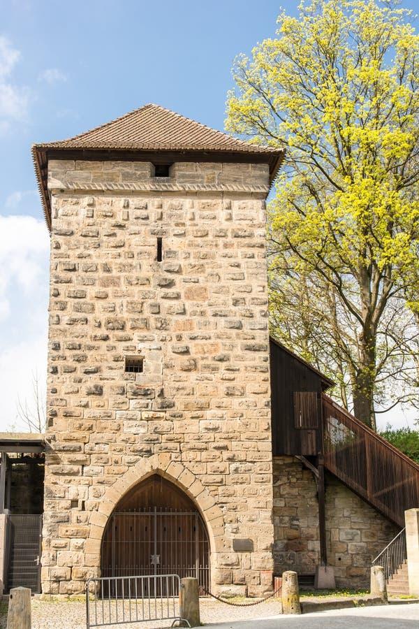 Башня в Forchheim стоковое фото