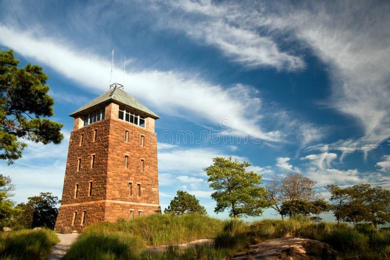 Башня горы медведя стоковые фотографии rf