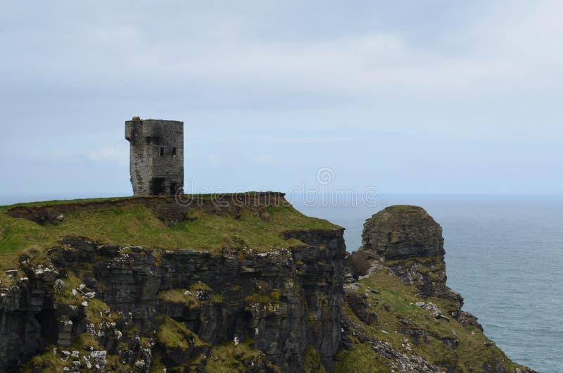 Башня головы ` s Hag в Ирландии стоковое фото rf