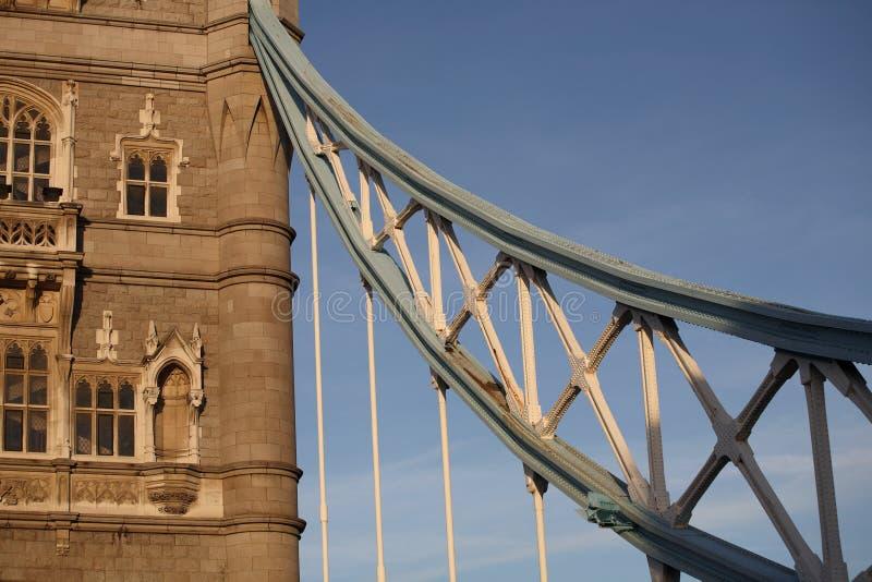 башня детали моста стоковые изображения