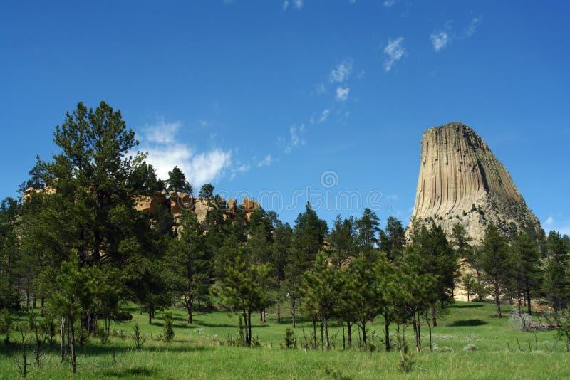 башня дьяволов стоковое фото