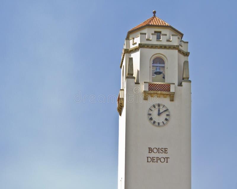 Башня депо поезда Boise стоковое фото rf