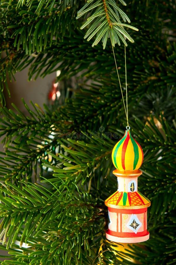 Башня & дерево xmas стоковое фото