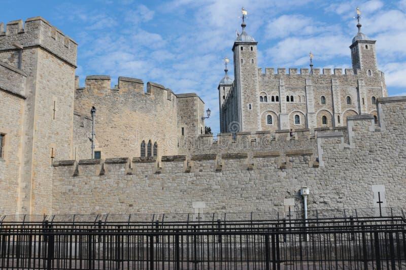 Башня замка Лондона стоковое фото