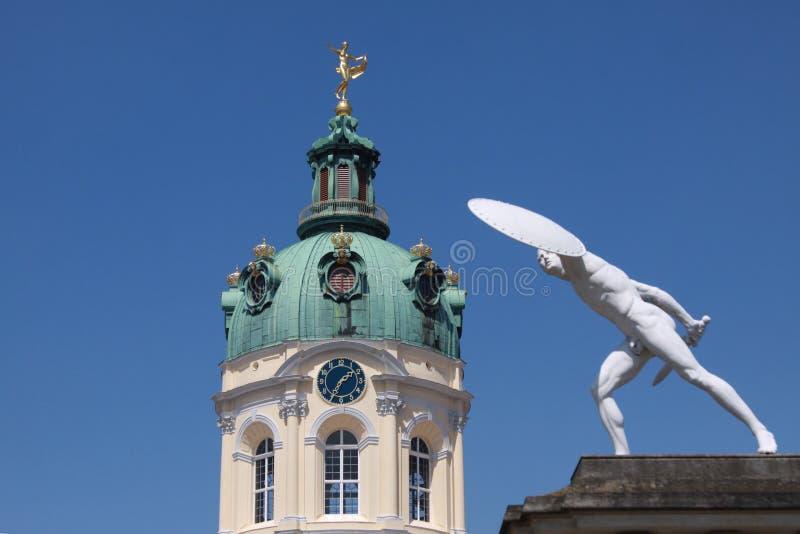 Башня замка Charlottenburg стоковое изображение rf