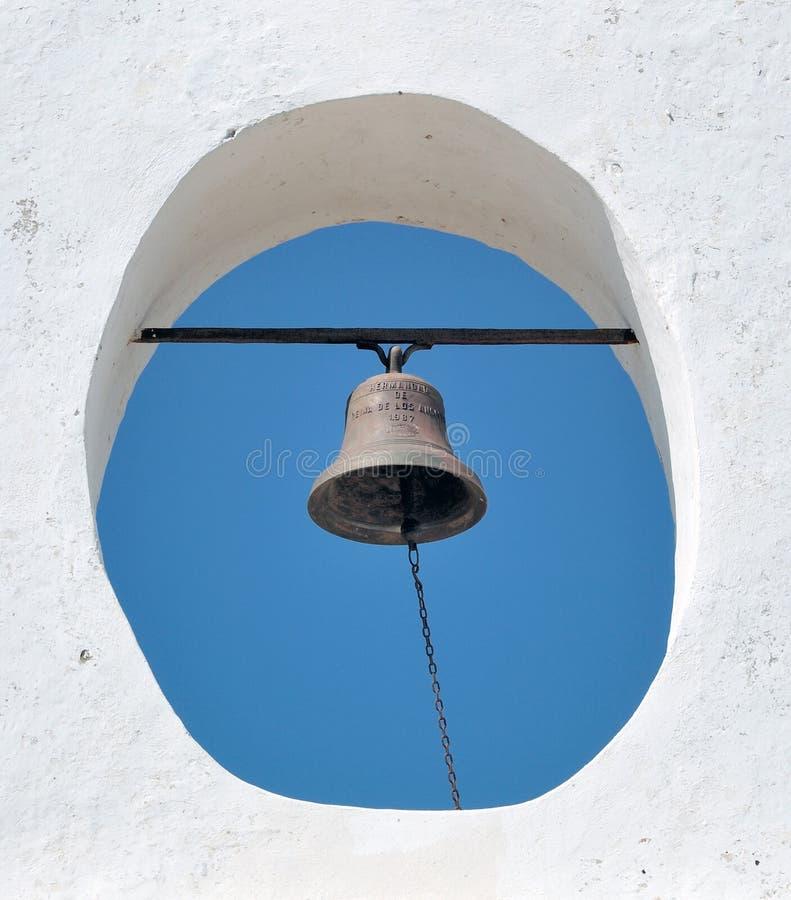башня испанского языка скита колокола стоковая фотография rf