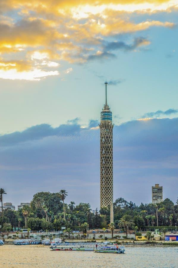 Башня Каира стоковая фотография