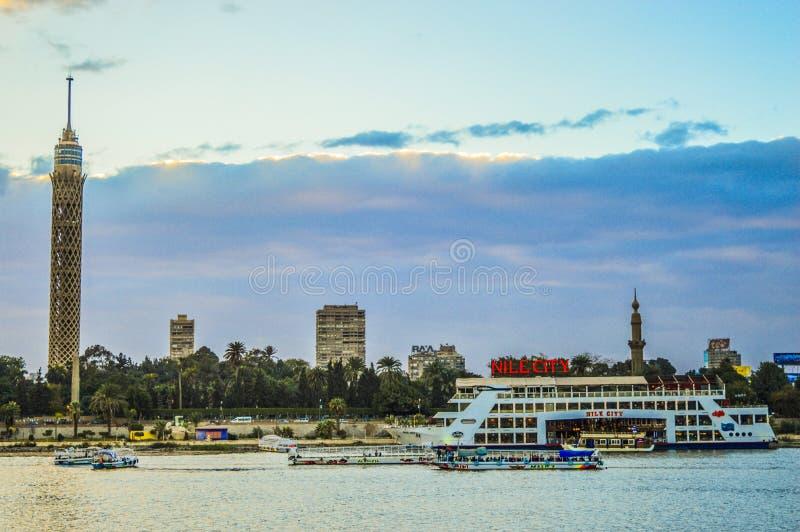 Башня Каира стоковое фото rf