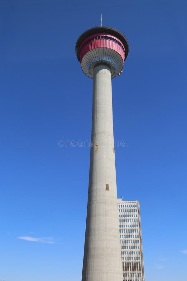 Башня Калгари стоковые фотографии rf