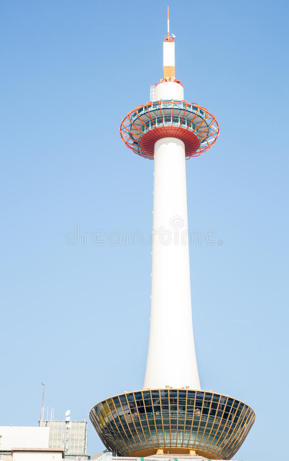 Башня Киото стоковое фото