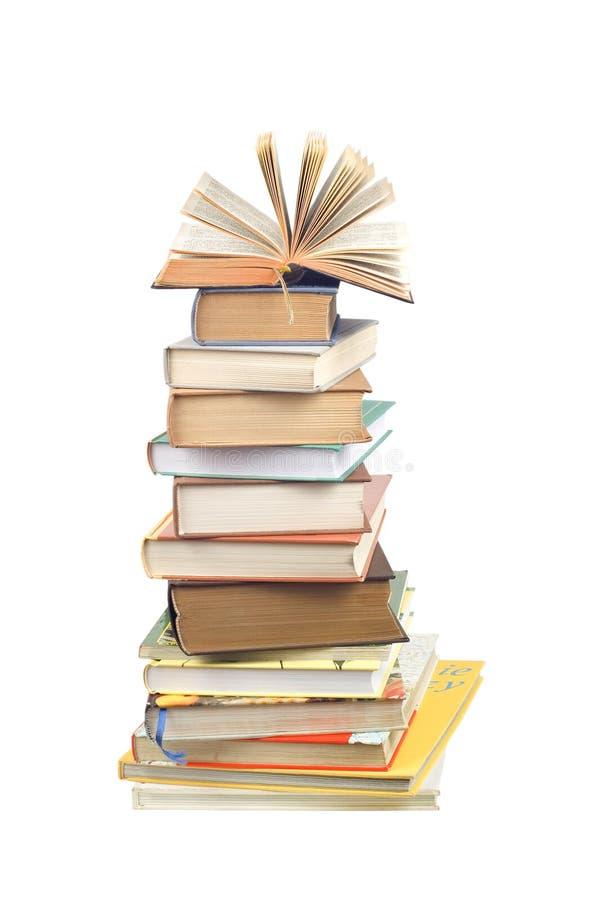 Download башня книг стоковое фото. изображение насчитывающей том - 1198350