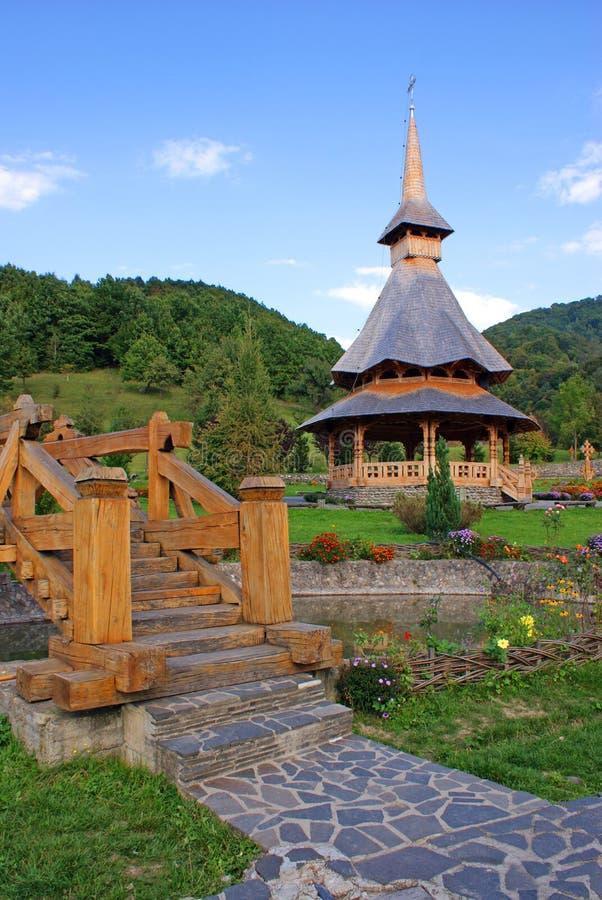 башня колокола деревянная стоковое фото rf