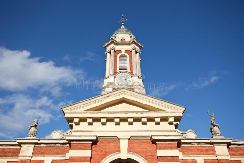 башня конюшни блока стоковое изображение