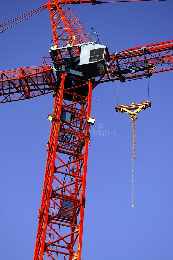 Башня крана конструкции стоковое изображение rf
