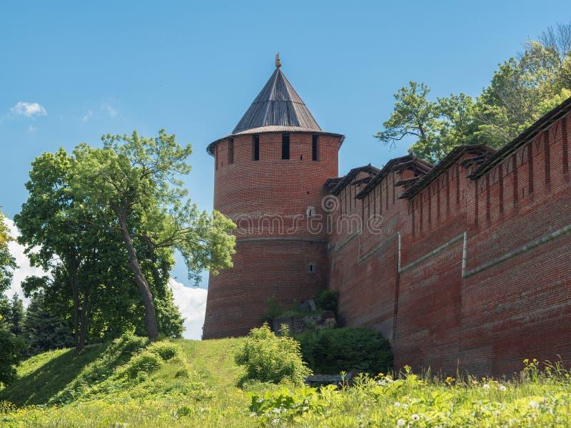 Башня Кремля стоковое изображение