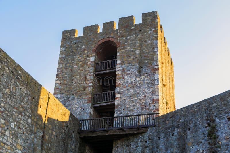 Башня крепости Smederevo стоковое изображение rf