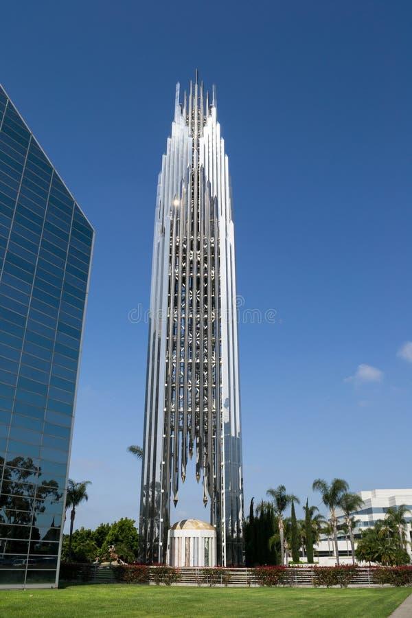 башня кристалла собора стоковое изображение
