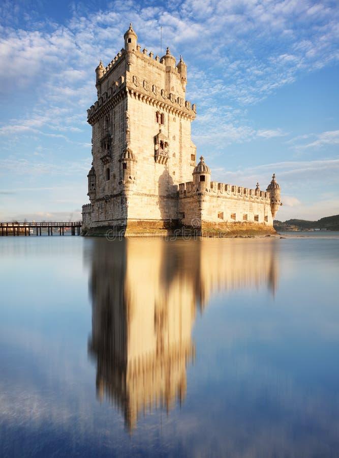Башня Лиссабона - Belem стоковое фото