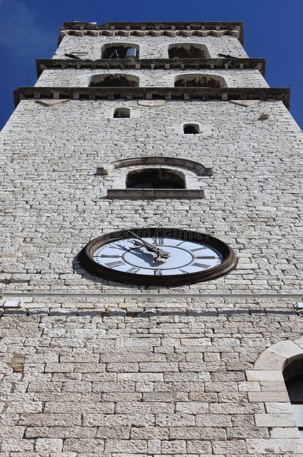 Башня людей в Assisi стоковое изображение