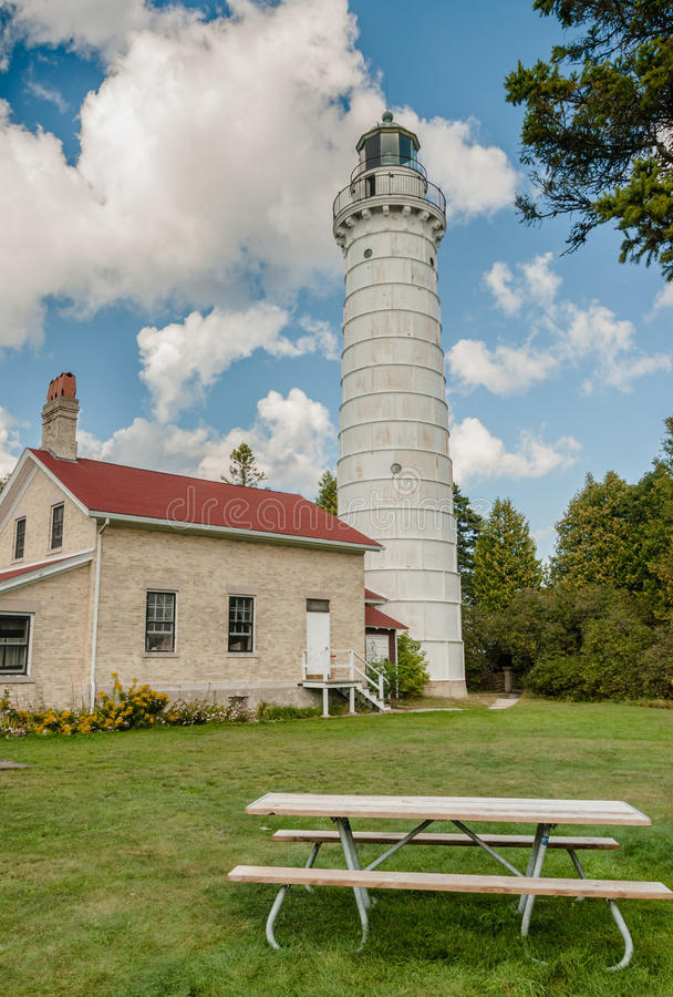 Башня маяка стоковое изображение rf