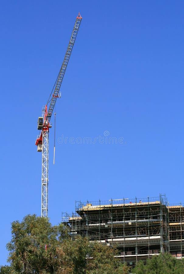 башня места крана конструкции стоковая фотография