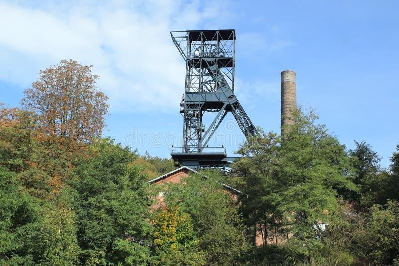 Башня минирования в Остраве стоковые изображения