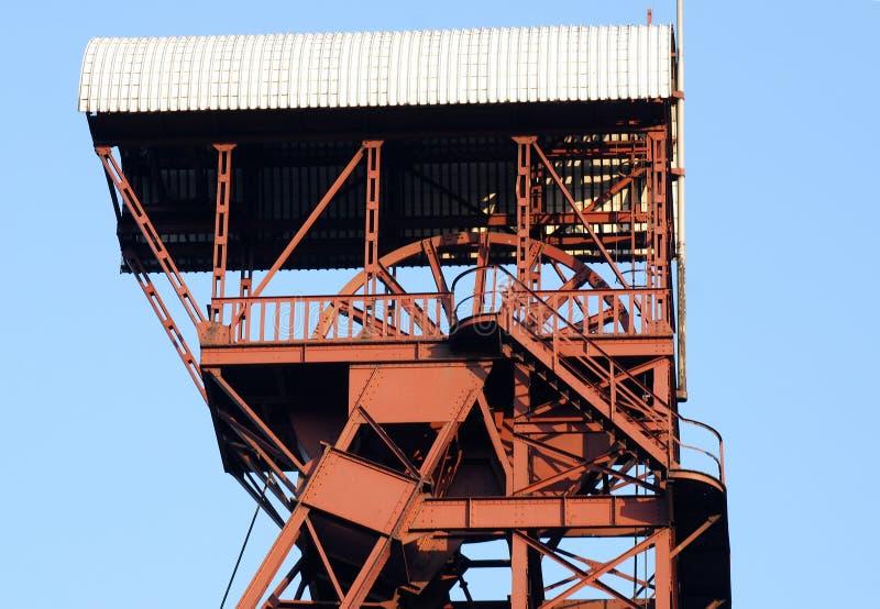 башня минирования стоковая фотография