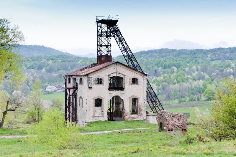 башня минирования стоковое фото