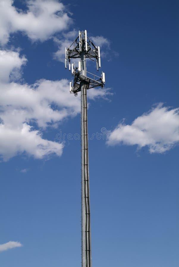 башня мобильного телефона клетки стоковые изображения