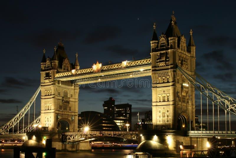 башня моста стоковая фотография rf