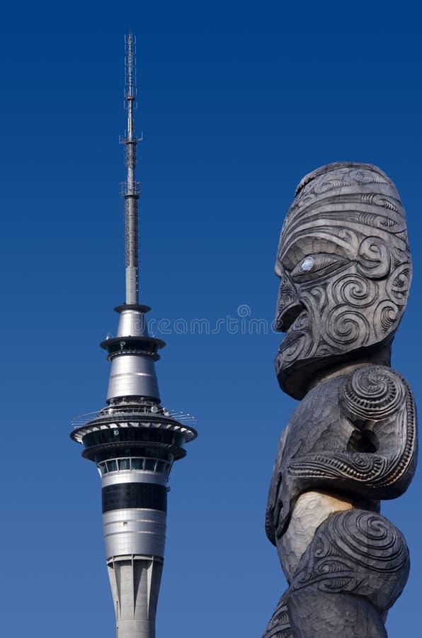 Башня неба Окленда стоковые фотографии rf