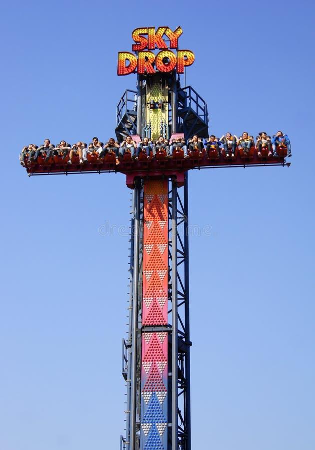 башня неба падения стоковые изображения rf