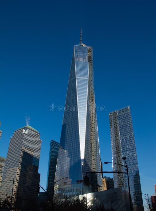 Башня Нью-Йорк свободы стоковая фотография