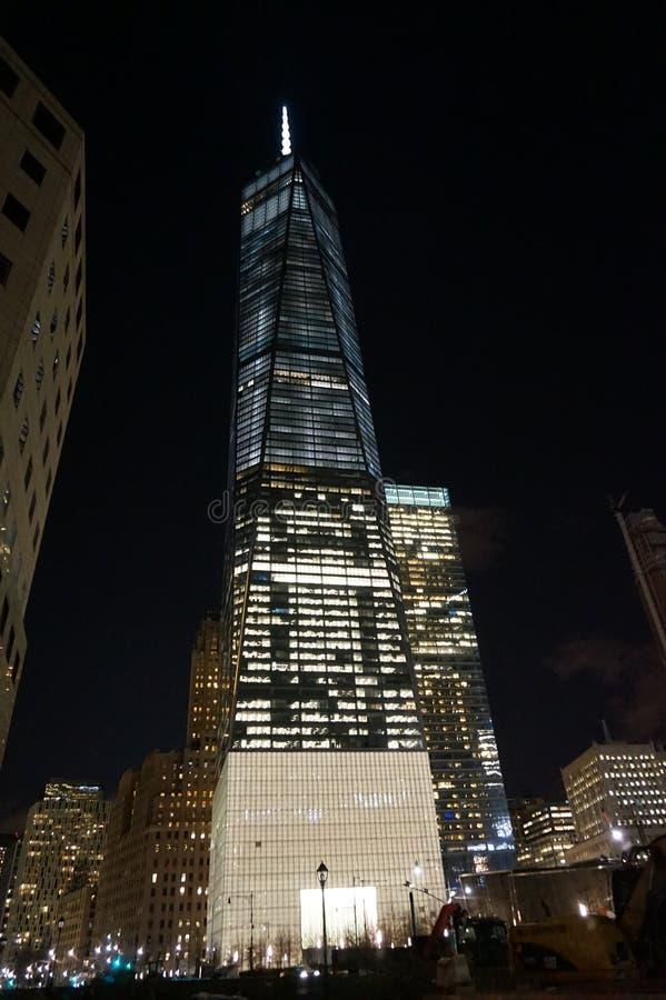 Башня Нью-Йорк свободы стоковые изображения rf