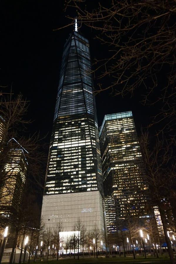 Башня Нью-Йорк свободы стоковое изображение