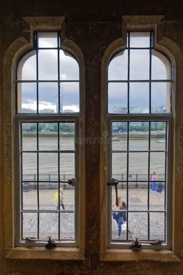 Башня окон Лондона стоковые фотографии rf