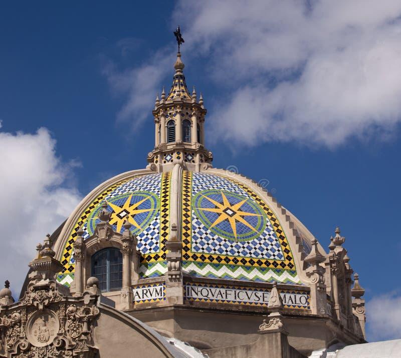 башня парка купола california бальбоа стоковое фото rf