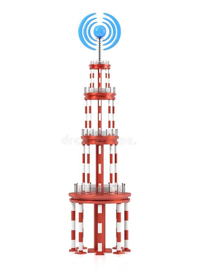 Башня передатчика бесплатная иллюстрация
