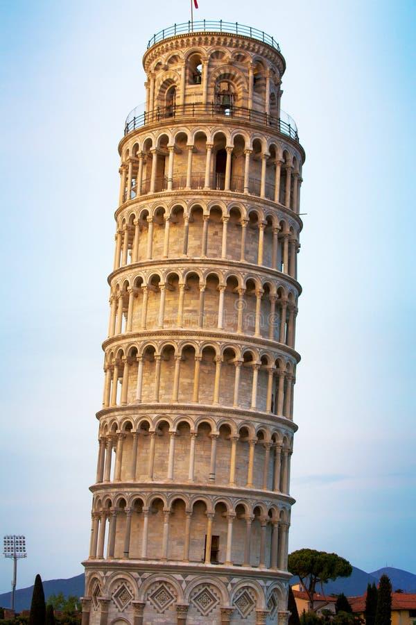 Башня Пизы, Италии стоковое фото rf