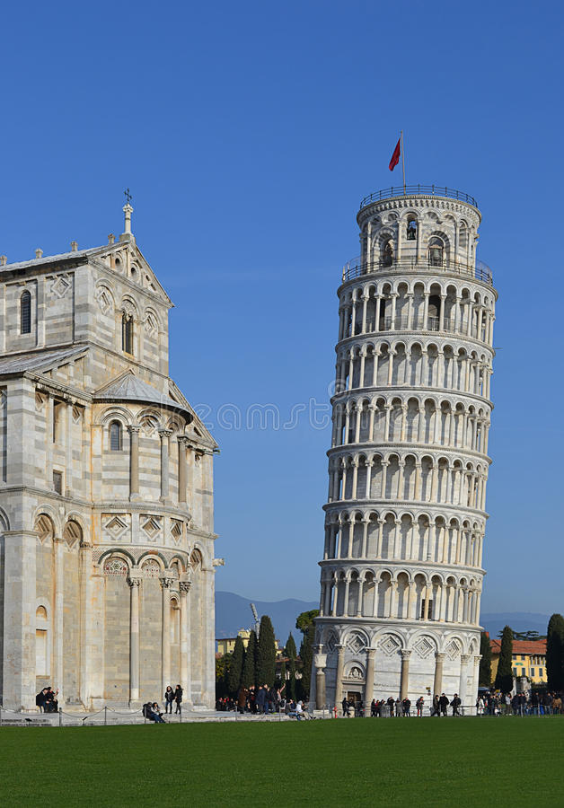 Башня Пизы Стоковое Фото