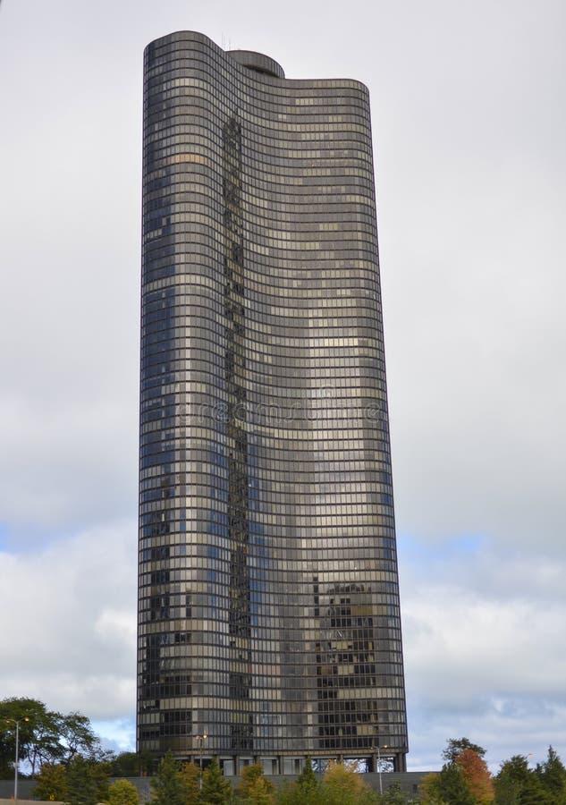 Башня пункта озера стоковое изображение