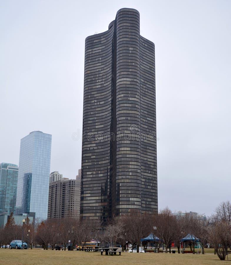 Башня пункта озера стоковое изображение rf