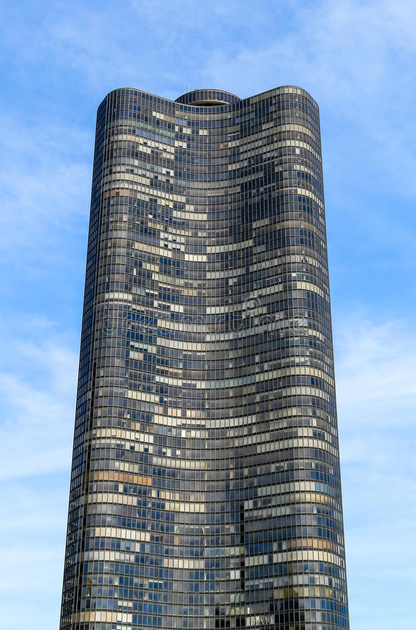 Башня пункта озера стоковая фотография