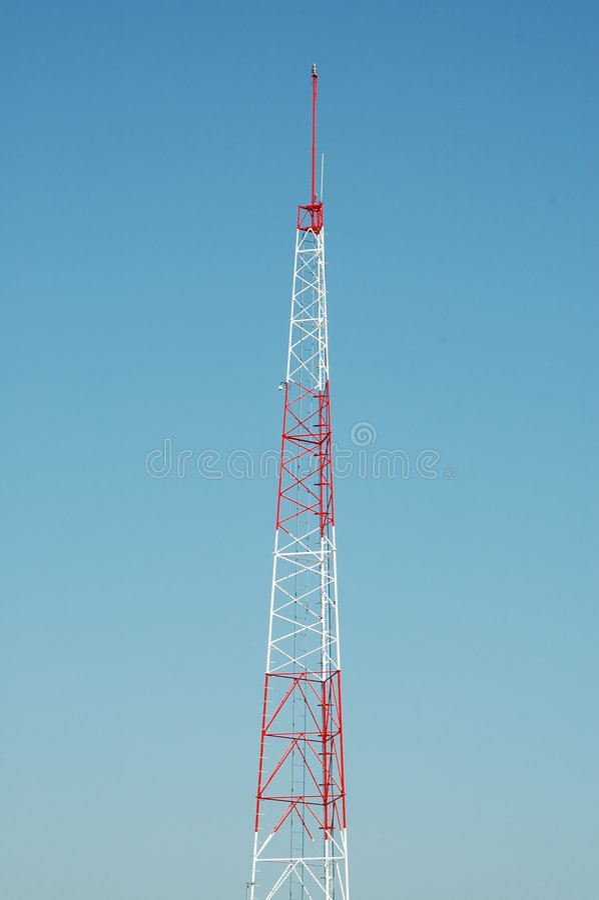 башня радио стоковые фото