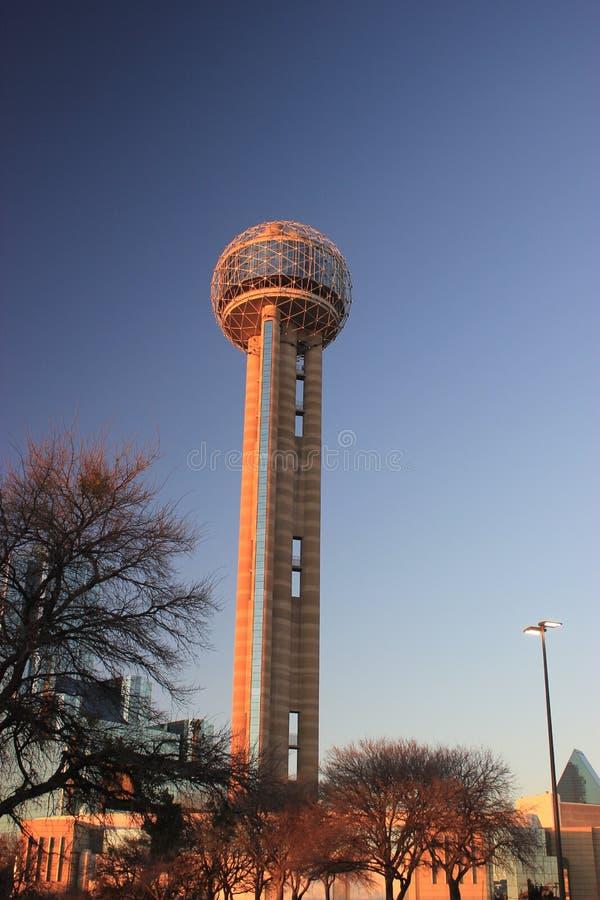 Башня реюньона стоковое изображение rf