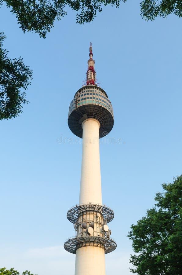Башня Сеула стоковые изображения rf