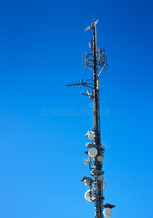 Башня сигнала стоковое фото rf